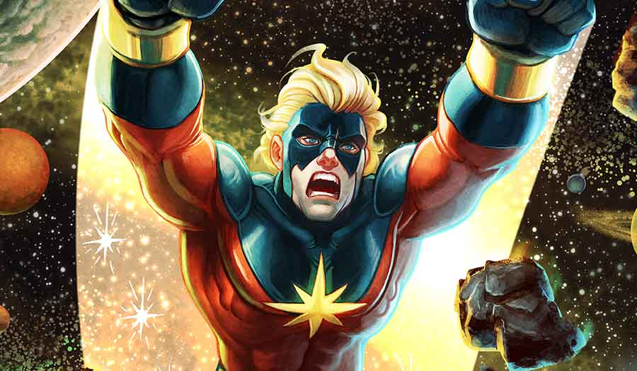 Captain Mar-Vell!