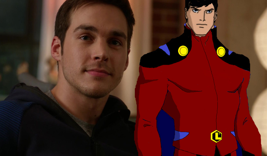 Mon-El suits up!