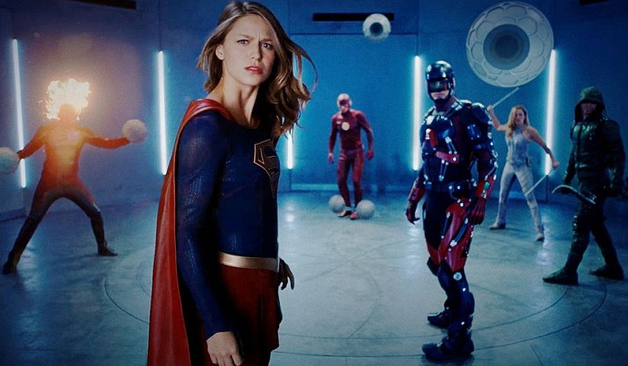 Supergirl & The Fight Club